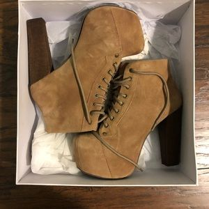 Jeffrey Campbell booties. Size 7